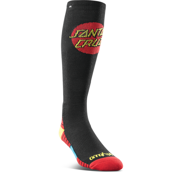 32 SANTA CRUZ SOCK BLACK