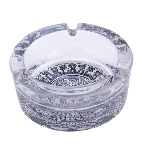 SANTA CRUZ DRESSEN BLACK ROSES ASHTRAY