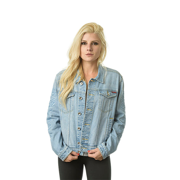 SANTA WOMEN'S CRUZ ROSA DENIM JACKET