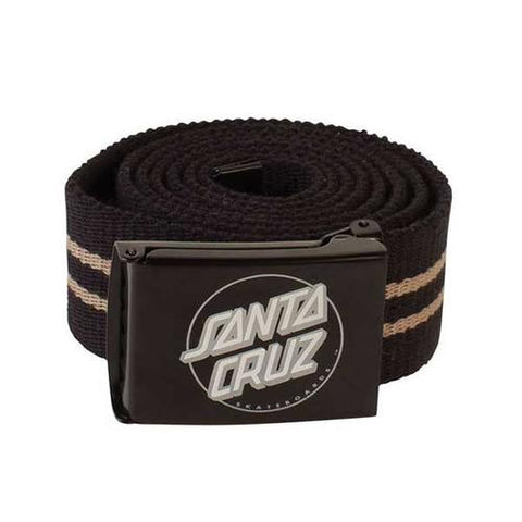 SANTA CRUZ STRIPED DOT WEB BELT