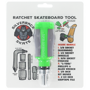 SILVERBACK SKATE RATCHET TOOL GREEN