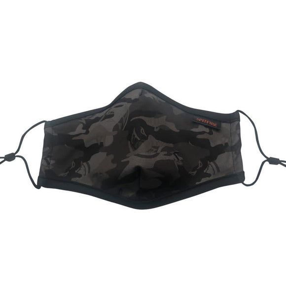 SPITFIRE BIGHEAD CAMO MASK BLACK/GREY