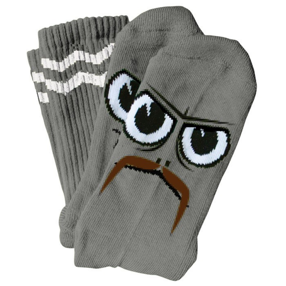 TOY MACHINE TURTLEBOY STACHE SOCK