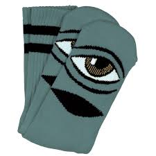 TOY MACHINE SECT EYE SOCK SAGE