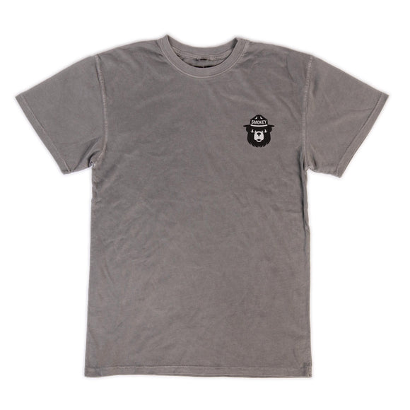 HABITAT SMOKEY FORESTS FUTURE TEE LT GREY
