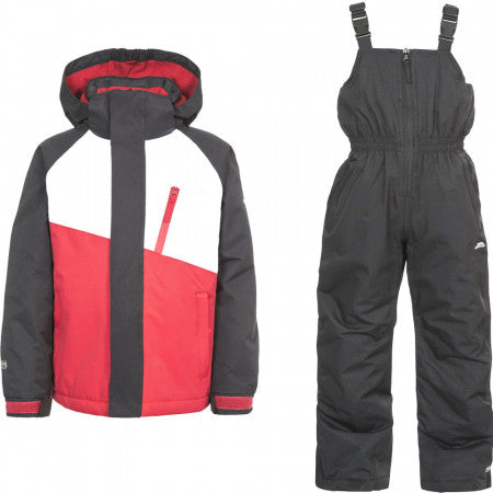 TRESPASS CRAWLEY JACKET BLACK/RED