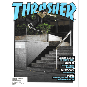 THRASHER MAGAZINE 2019 AUGUST