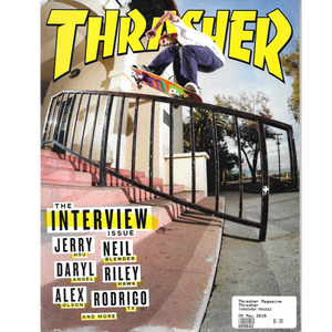 THRASHER MAGAZINE 2016 MAY