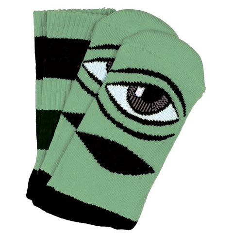 TOY MACHINE SECT EYE BIG STRIPE SOCK MINT