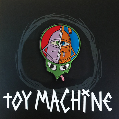 TOY MACHINE TURTLEHEAD LAPEL PIN