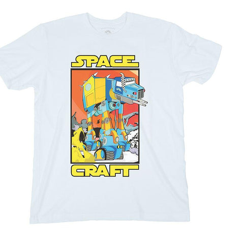SPACECRAFT WALKER TEE WHITE