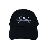 MELVIN THE NERD HAT BLACK/WHITE