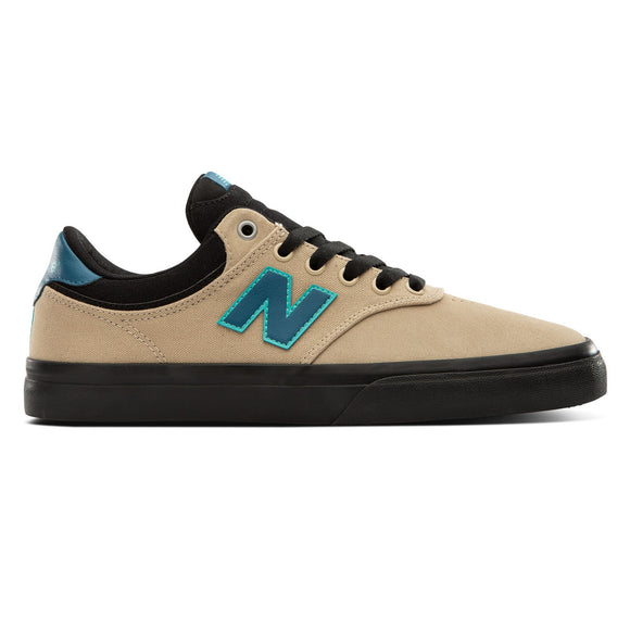 NEW BALANCE 255 TAN WITH BLUE