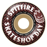 SPITFIRE F4 52MM 99A SKATE SHOP DAY CLASSICS