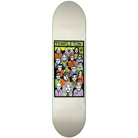 TOY MACHINE TEMPLETON FACES 8.5