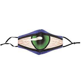 TOY MACHINE SECT EYE FACE MASK PURPLE