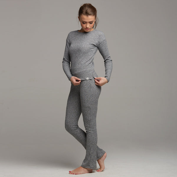 TATE LOUNGEWEAR HIGH WAISTED TROUSER - CT061