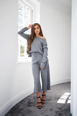 'ZOWIE' Knitted Lux Co Ord Set - CT086