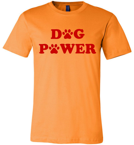 Dog Power - Bella + Canvas Unisex Tee