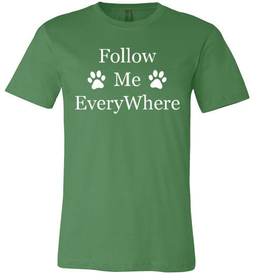 Follow Me EveryWhere - Canvas Unisex Tee