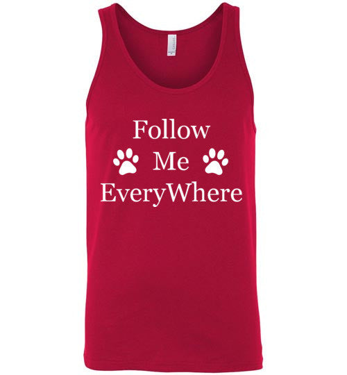 Follow Me - Canvas Unisex Tank