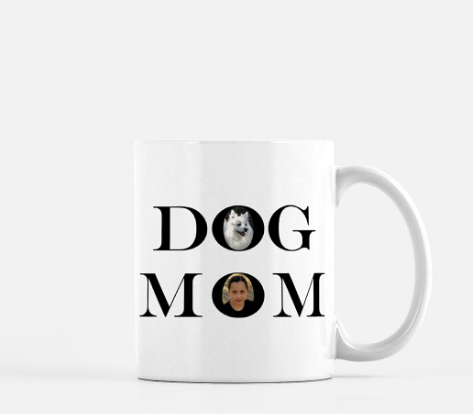 Personalized Dog Mom Mug