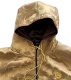 Brown pasley windbreaker