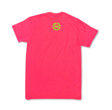 Neon Pink Pretty & Productive short sleeve t-shirt
