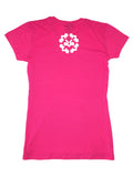 HOT PINK FEMALE RESTING, DRESSING & FINESSING T-SHIRT