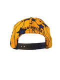 Blue Starred & Golden Snapback Hat