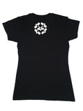 BLACK FEMALE RESTING, DRESSING & FINESSING T-SHIRT
