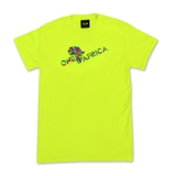 Neon Yellow Official One Africa Music Fest T-shirt