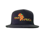 Black One Africa Music Fest Snap Back Mosaic Design
