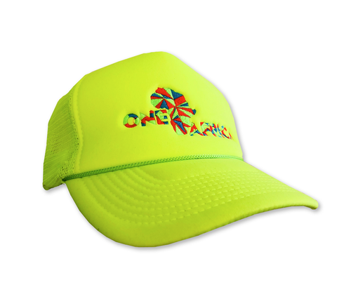 Neon Yellow One Africa Music Fest Trucker Hat