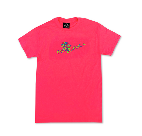 Neon Pink Official One Africa Music Fest T-shirt