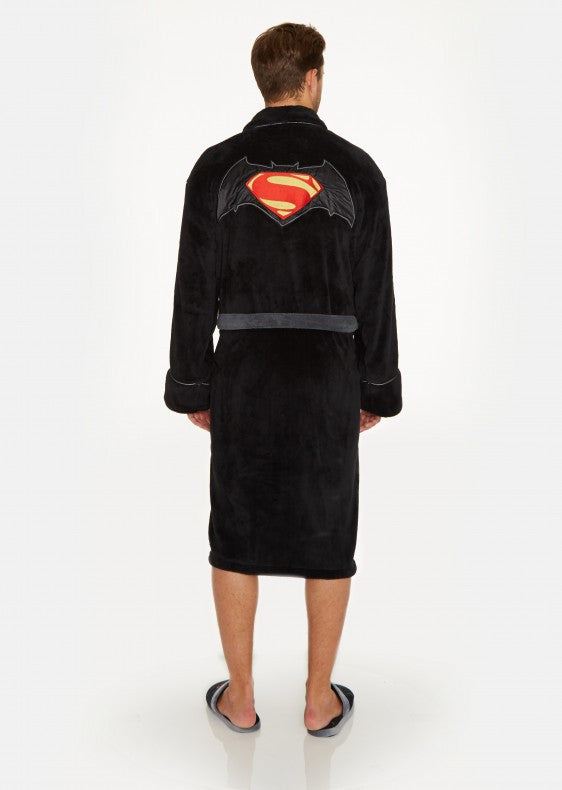 Batman Vs Superman Bathrobe Back