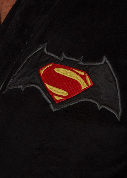 Batman Vs Superman Bathrobe Detail