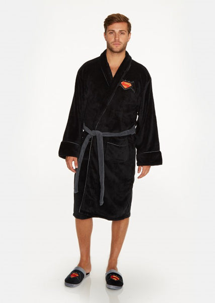 Batman Vs Superman Bathrobe Front