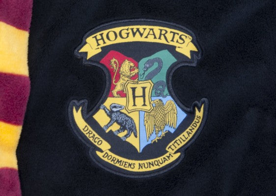 Harry Potter Bathrobe with Hogwarts crest