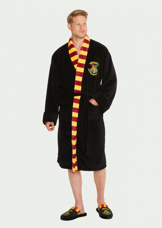 Harry Potter Hogwarts Scarf Neck Bathrobe