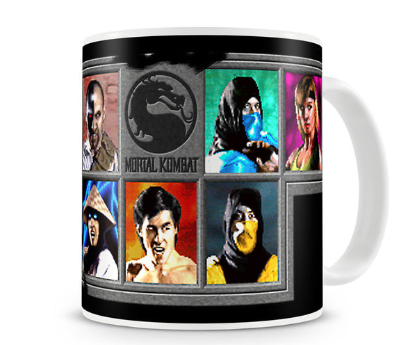 Mortal Kombat Choose Your Fighter Mug side