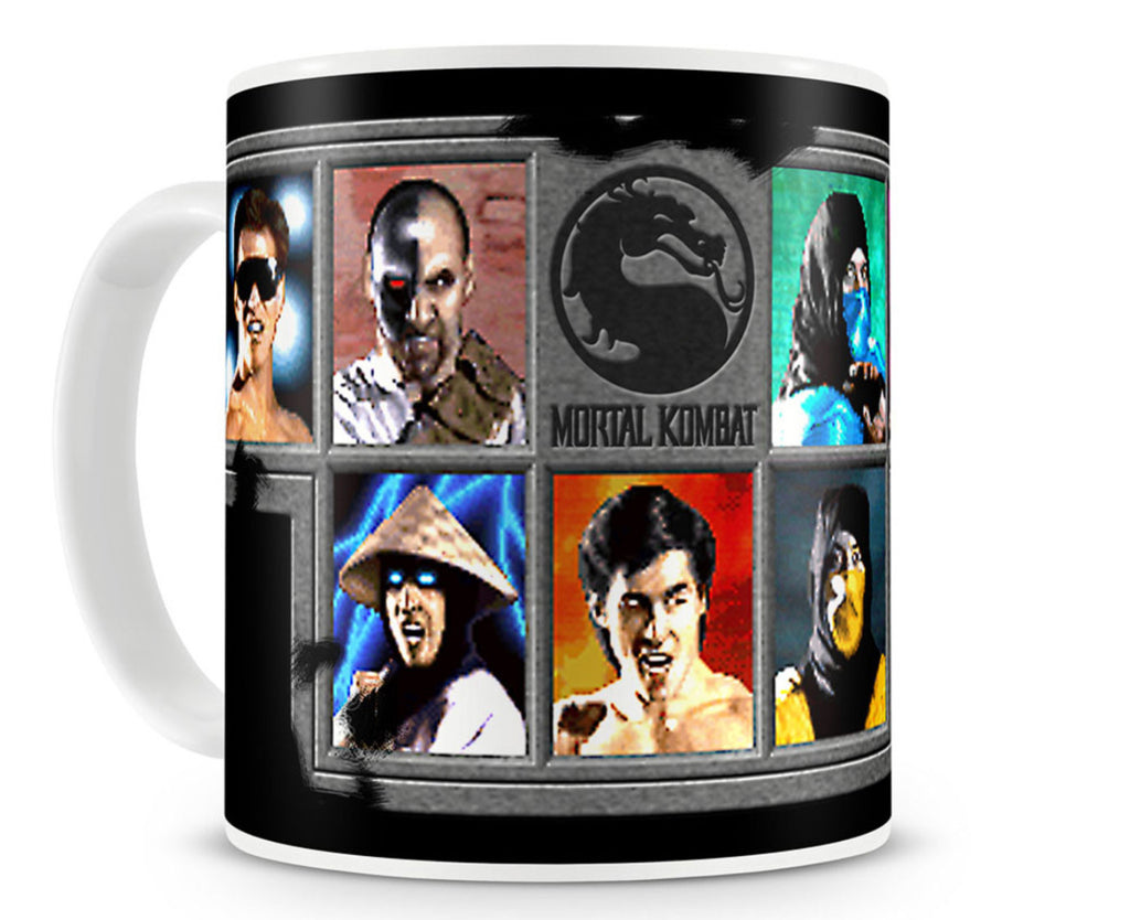 Mortal Kombat Choose Your Fighter Mug