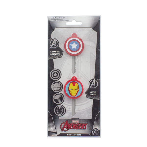 Marvel Superhero Key Covers