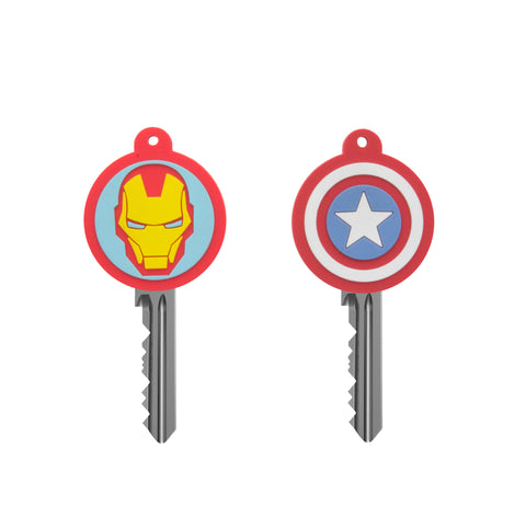 Marvel Captain America and Iron Man Key Covers