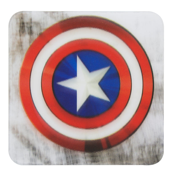 Marvel Captain America 3D Drinks Coaster