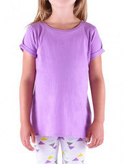 Rayna rolled sleeve tee shirt - Pip & Squeaks