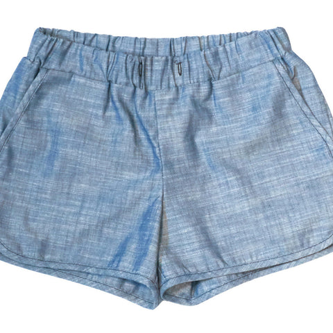 Callie Shorts in Indigo