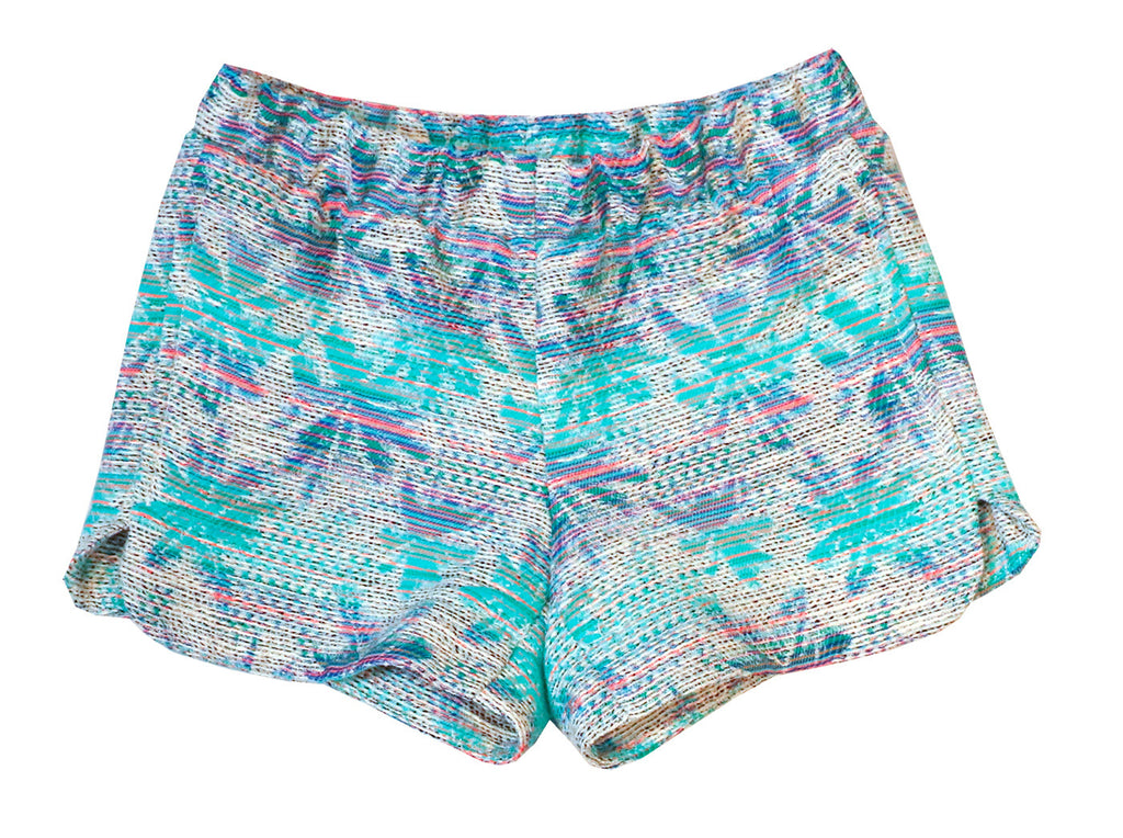 Tropical Shorts in Blue - Pip & Squeaks