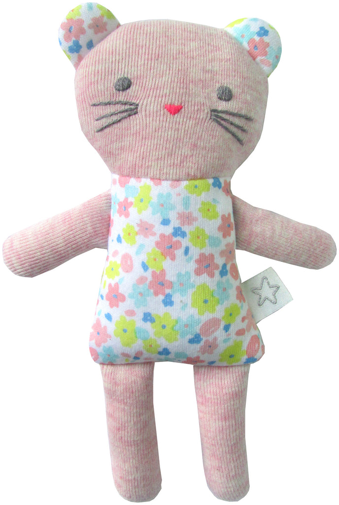 Neon Cat Stuffy - Pip & Squeaks