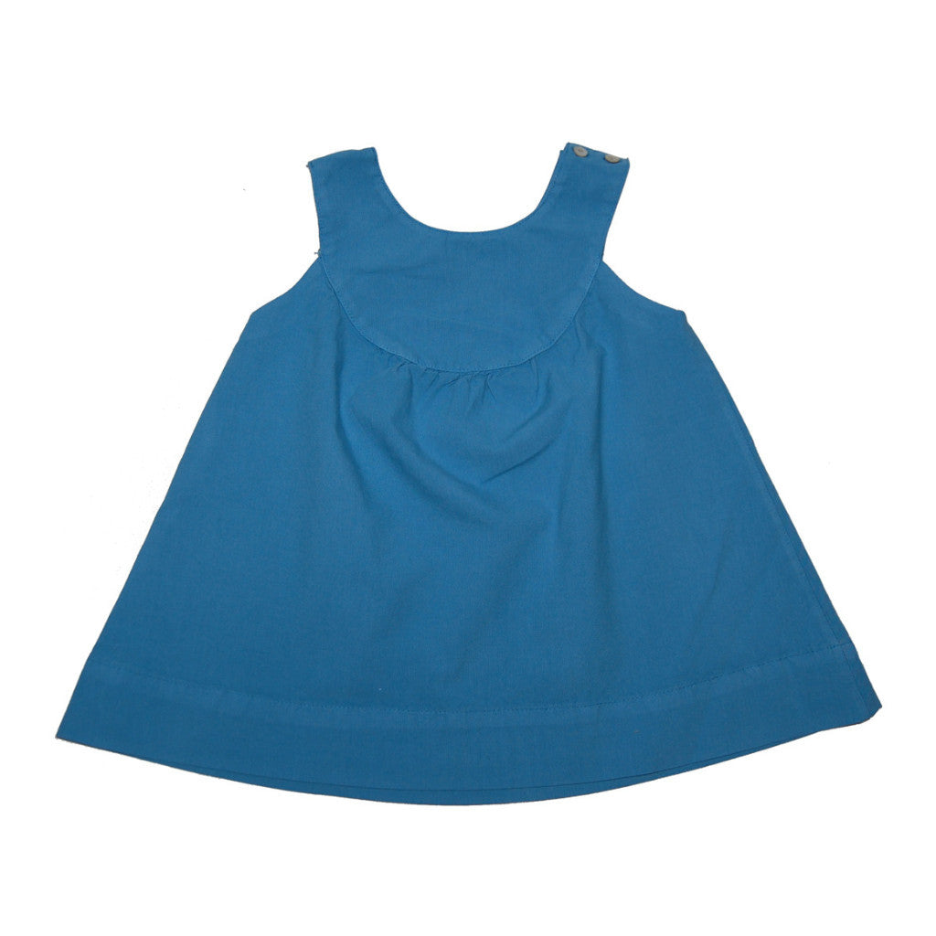 Sea Blue Abigail Dress - Pip & Squeaks